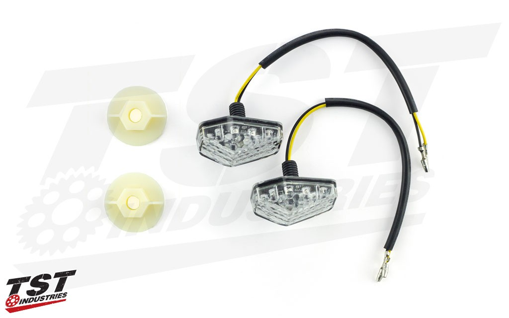 LED Front Flushmount Turn Signals for Suzuki DRZ400S / DRZ400SM