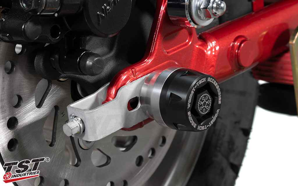 Simple and easy installation provides valuable protection for your Honda Monkey.