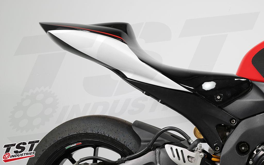 Superbike tail.