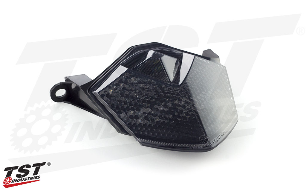 TST LED Integrated Tail Light Kawasaki 2008-2010 ZX10R & 2009-2012 ZX6R