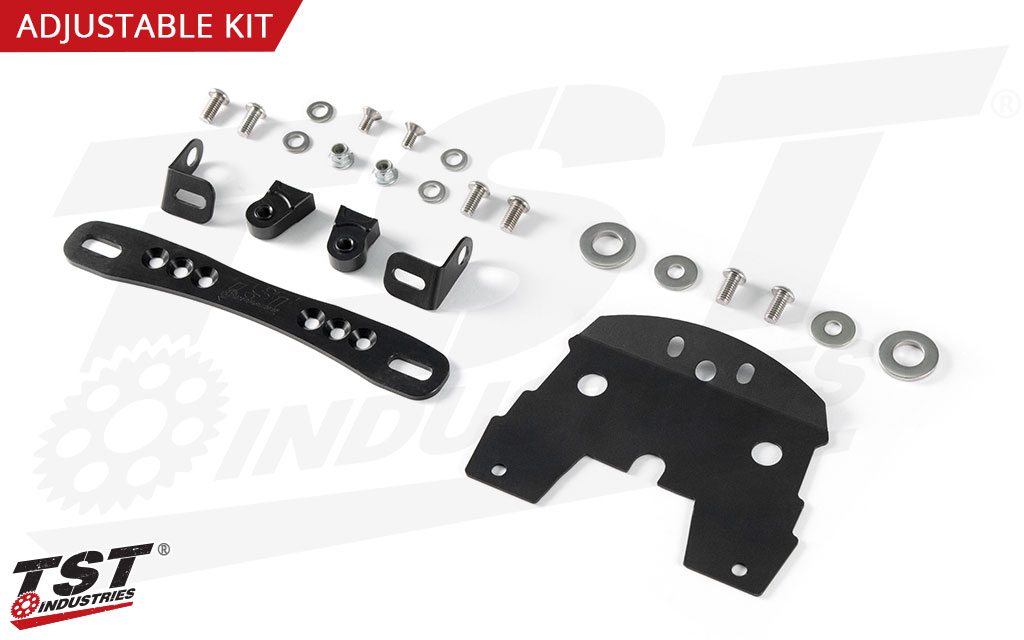 What's included in the Adjustable kit.