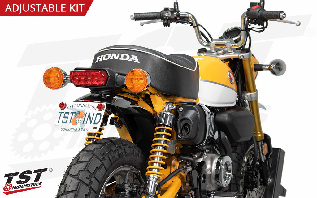 Keep the focus on the classic styling of your Honda Monkey with the TST Elite-1 Fender Eliminator.