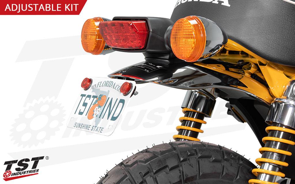 Upgrade your Honda Monkey with the TST Adjustable Elite-1 Fender Eliminator.
