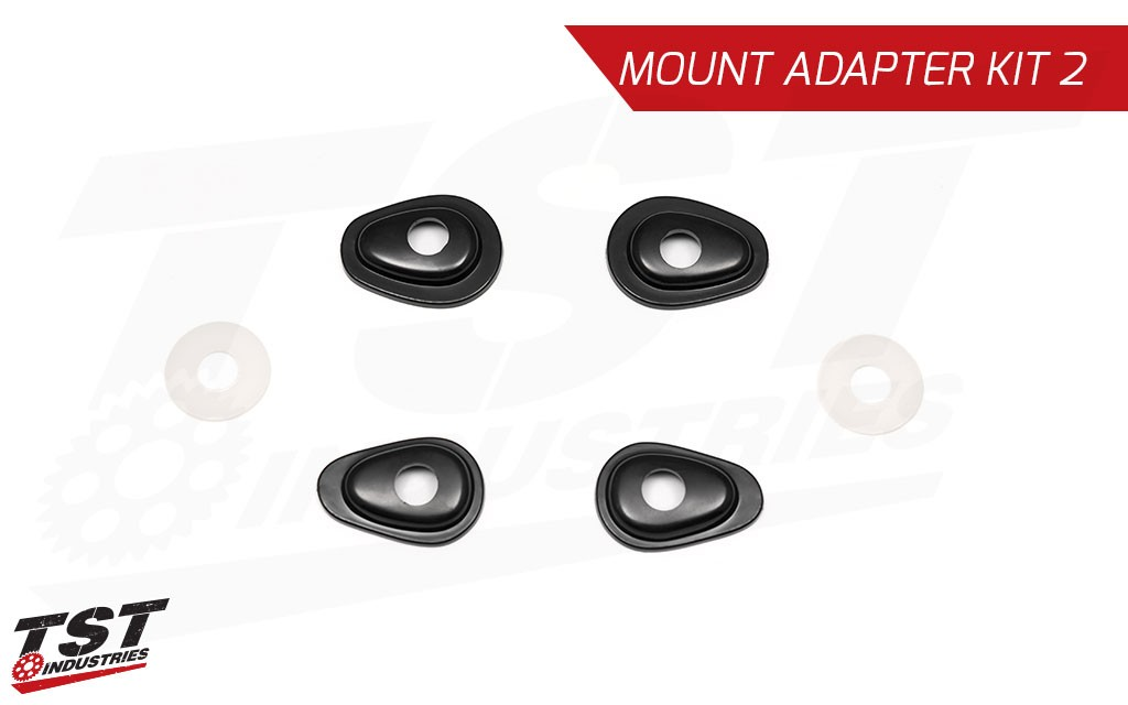 Mount your signals with the easy to use TST Pod Signal Mount Adapter Kit for the Honda CRF450L.