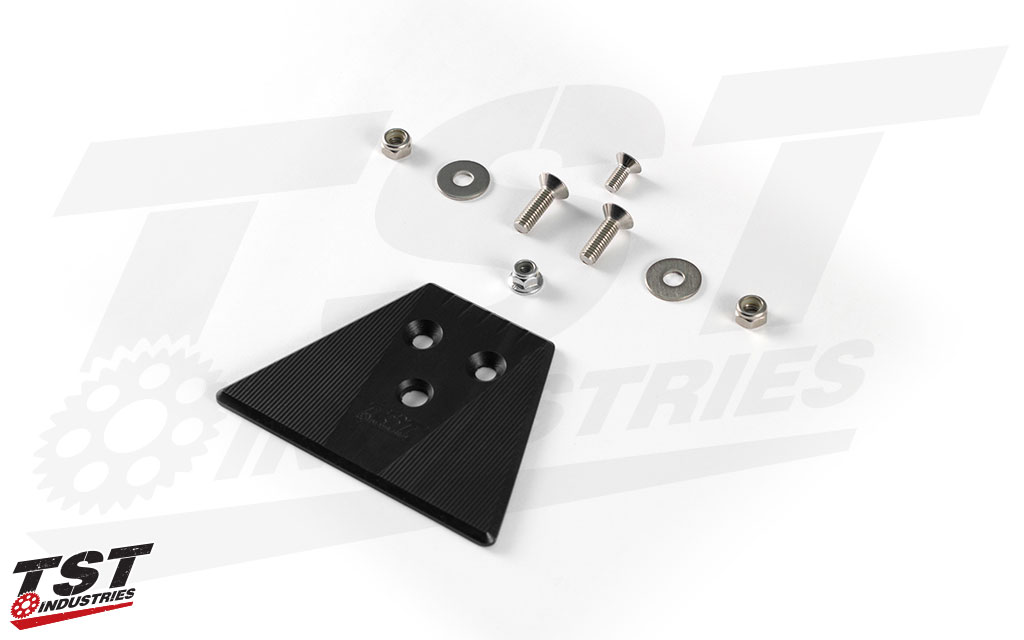 Fill the hole left behind from removing your fender and keep water and road debris out with the TST Undertail Closeout.