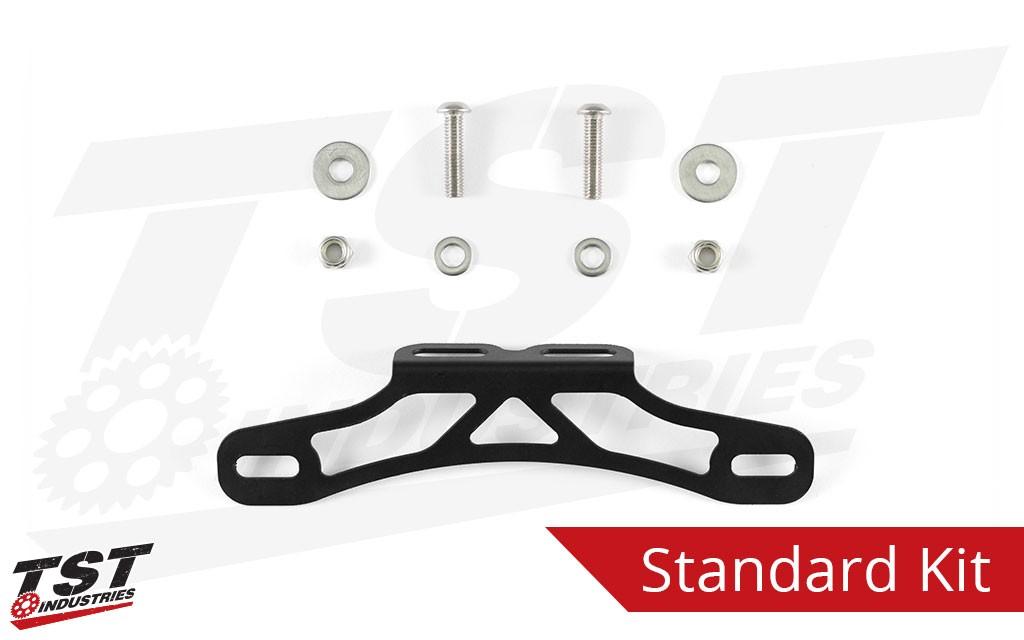TST Industries Standard Fender Eliminator for the 2017+ Kawasaki Ninja 650.