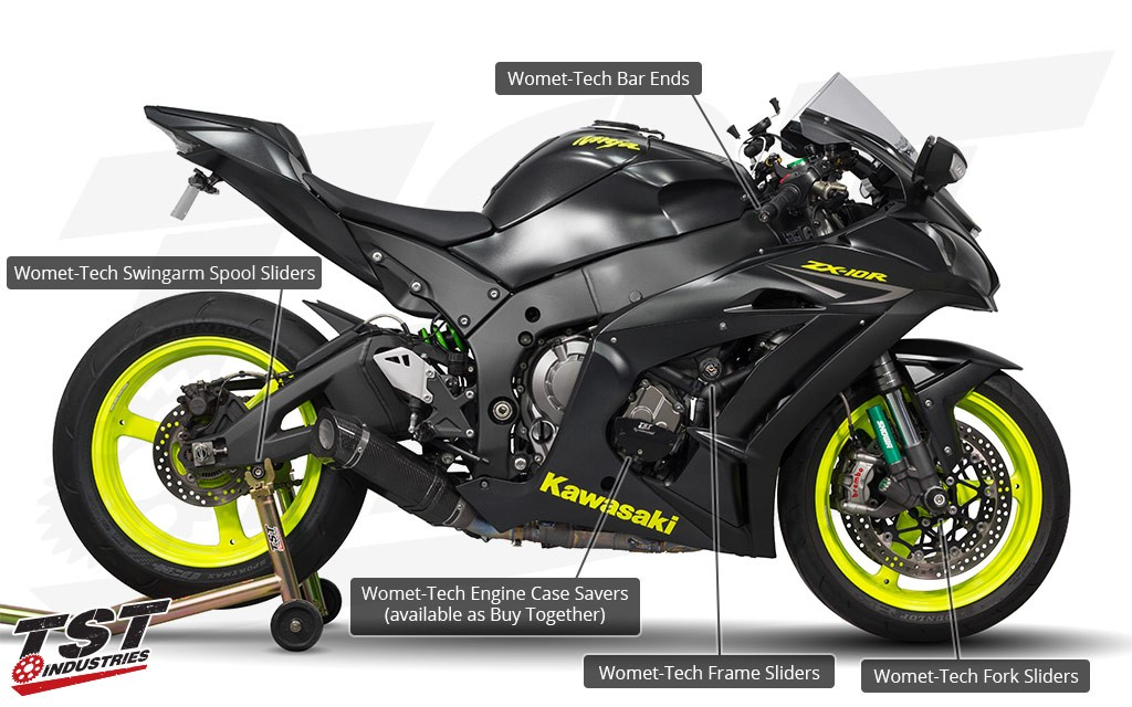 Womet-Tech Total Protection Pack for 2011+ Kawasaki ZX-10R.