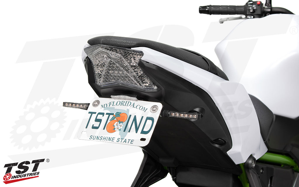 Combine the upcoming Integrated Tail Light with the Elite-1 Fender Eliminator and extra turn signals.