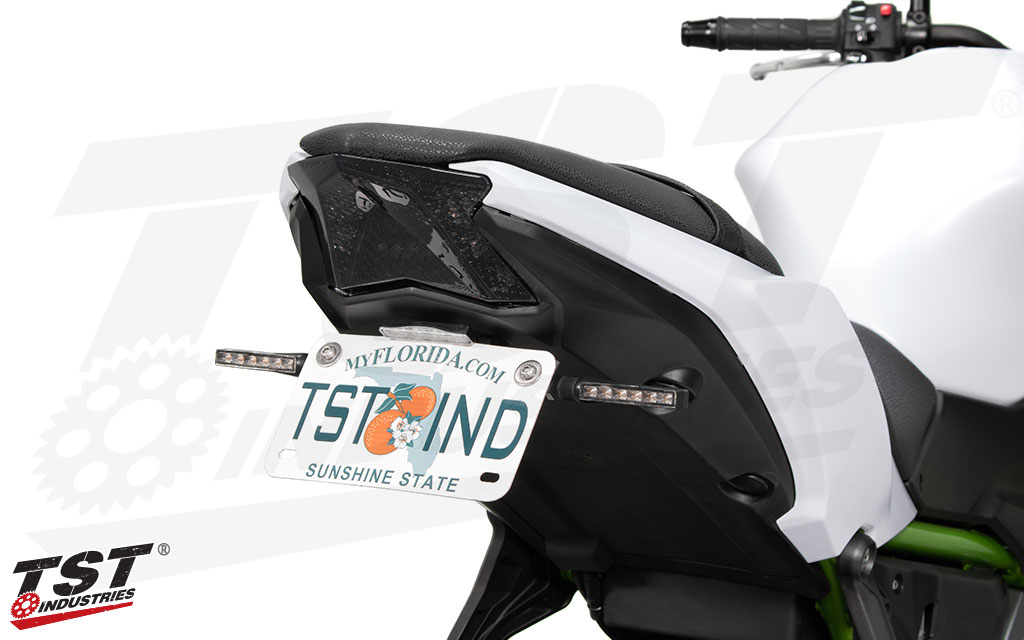 Combine the Integrated Tail Light with turn signals for added visibility - BL6 Pod Turn Signals sold separately.