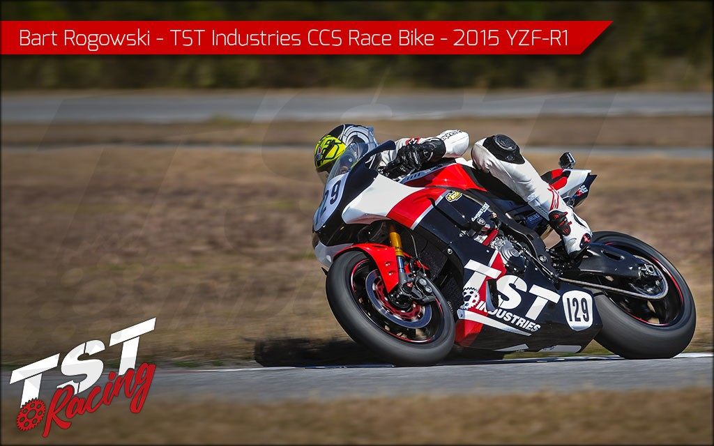 Racetrack proven on our 2015 YZF-R1 CCS Race Bike