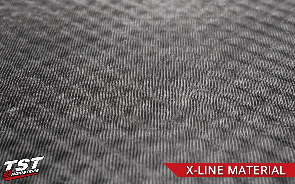 TechSpec X-Line material closeup.