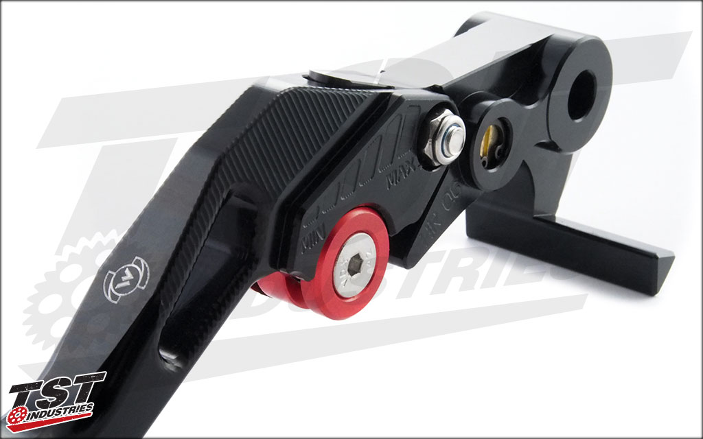 Upgrade you stock R1 levers with Womet-Tech's high quality levers.