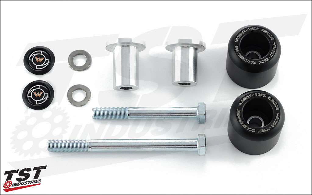 Womet-Tech Frame Sliders | Yamaha 2009 - 2014 YZF R1