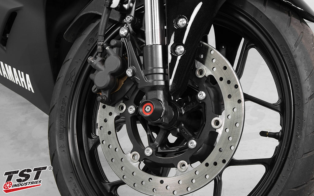 Easy installation and real world crash protection for your Yamaha YZF-R3.