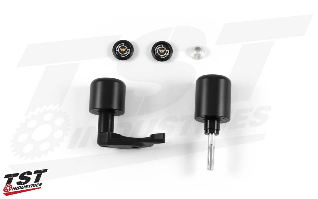 Womet-Tech Frame Slider Kit for BMW S1000RR 2012-2014