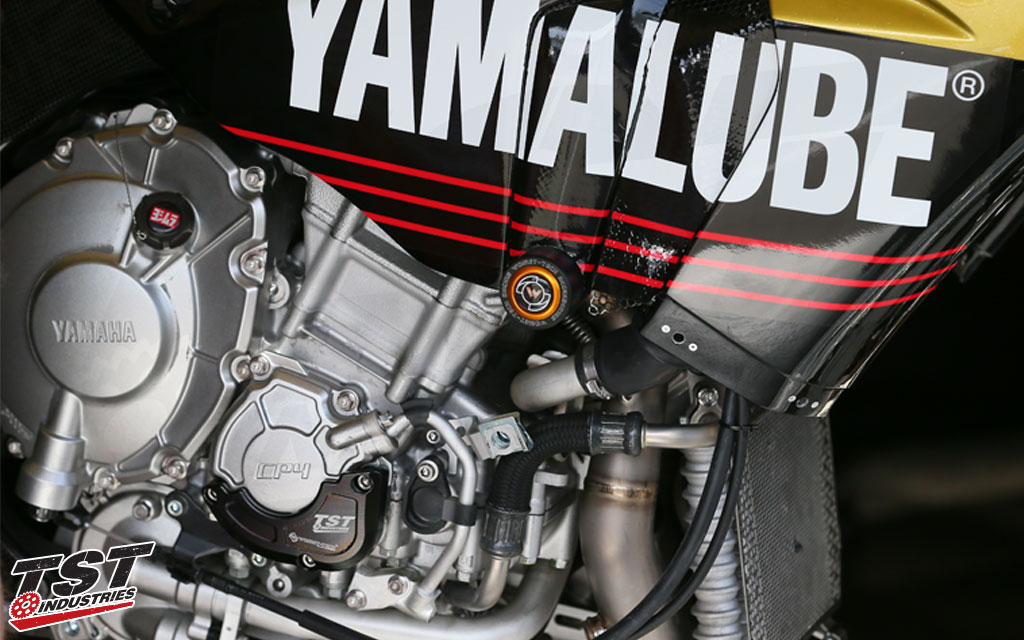 Used to protect the Team Yamalube Westby R1 in MotoAmerica.