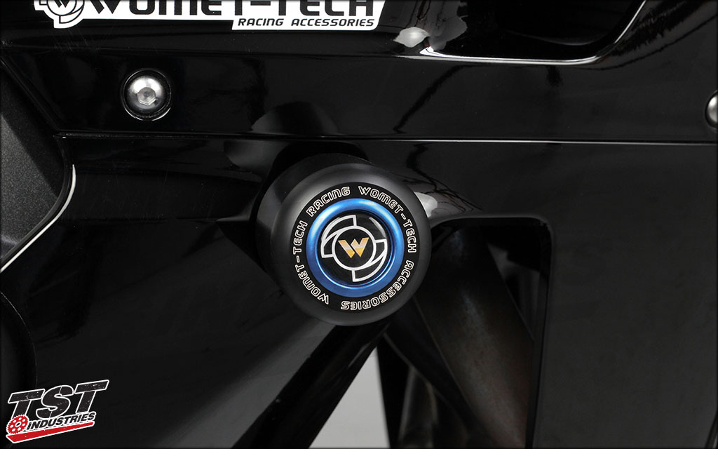 Frame Sliders are essential to protecting your engine and fairings.