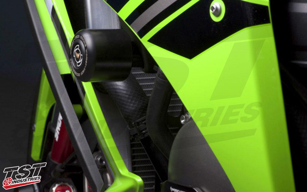 Womet-Tech Frame Sliders | Kawasaki ZX-10R 2011+