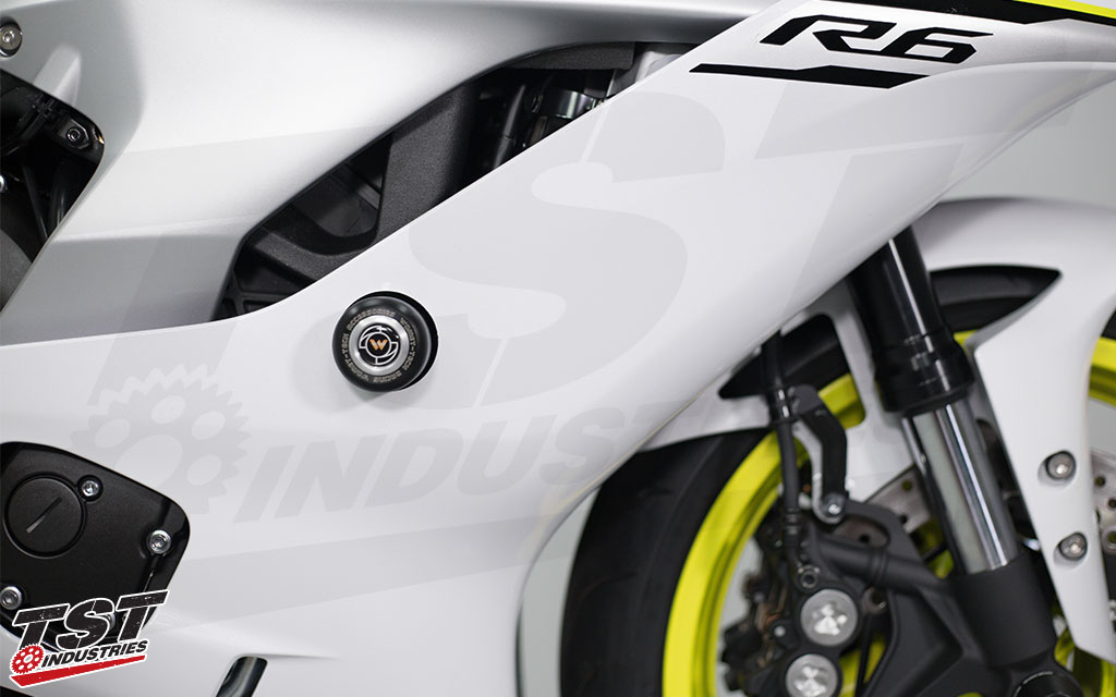 Womet-Tech | Frame Sliders for 2017+ Yamaha YZF-R6