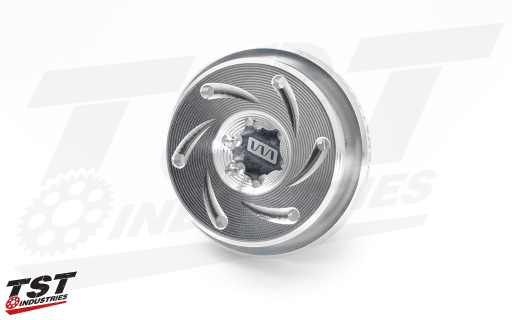 The Womet-Tech Oil Filler Cap is pre-drilled for safety wire and ready to get you to the track.