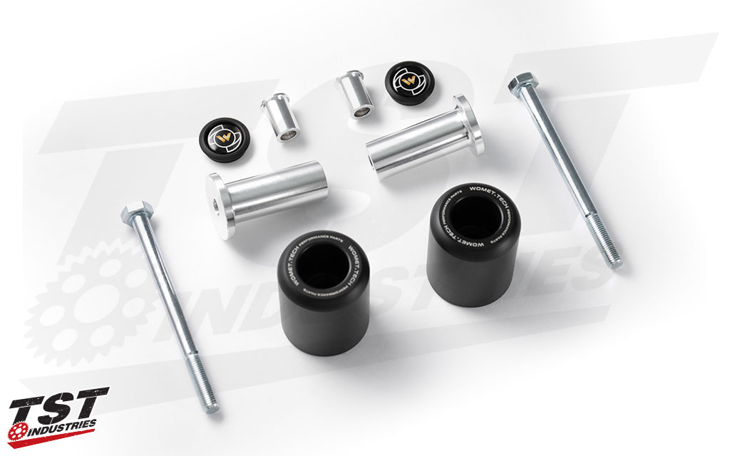 Protect your Kawasaki Z900 with Womet-Tech Frame Sliders.