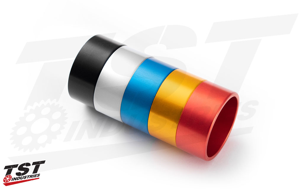 Customize your Womet-Tech Bar Ends with a color that fits you and your bike.