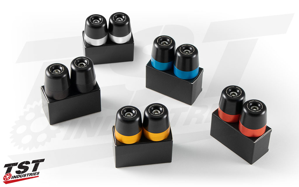 Interchangeable color anodized rings enable you to customize the look of your bike. Other colors sold separately.
