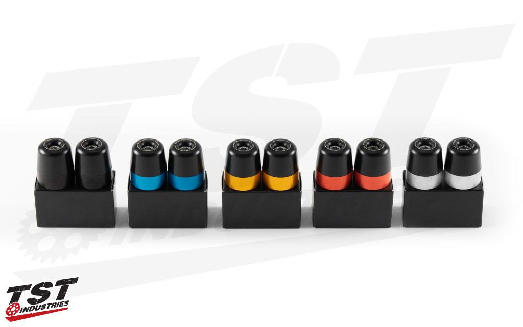 Womet-Tech Bar End color options.
