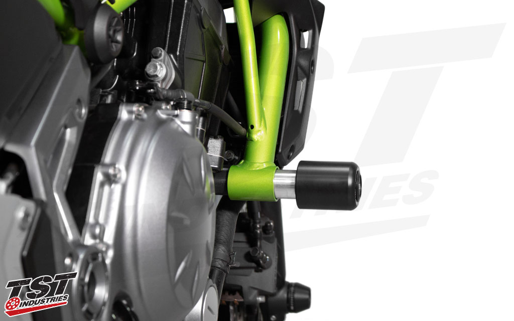 No-cut design means you don't have to modify your Kawasaki Z650 or Ninja 650 for proper installation.