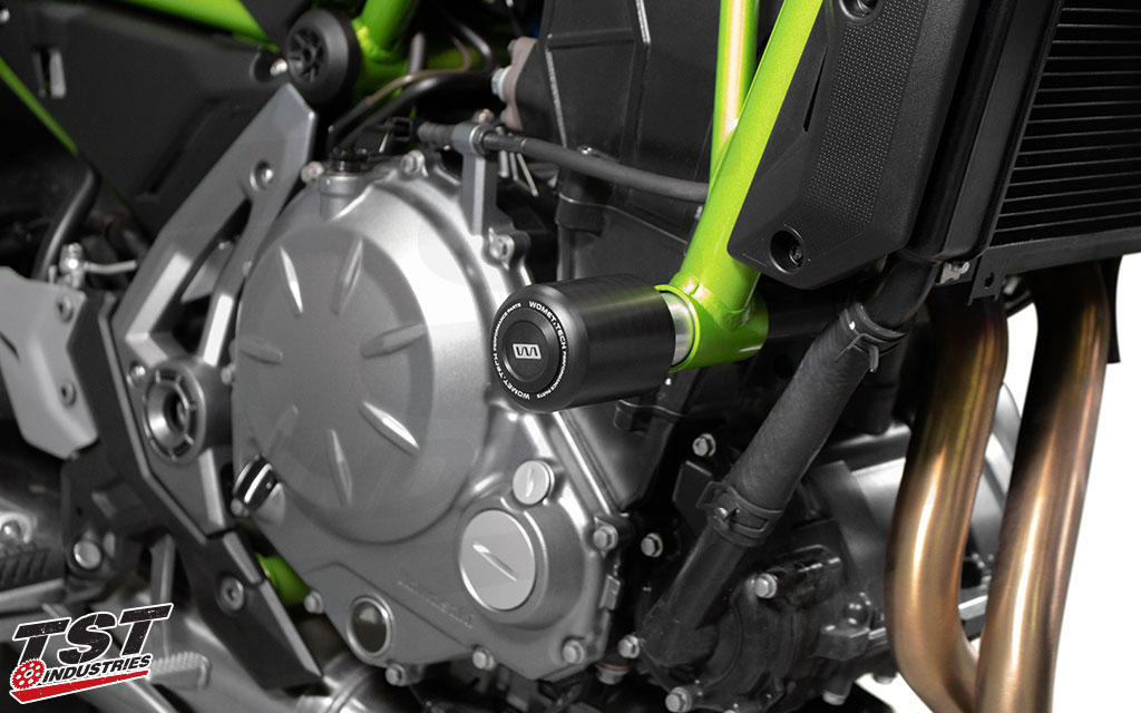 Help protect your frame and vital components with a simple and easy installation.