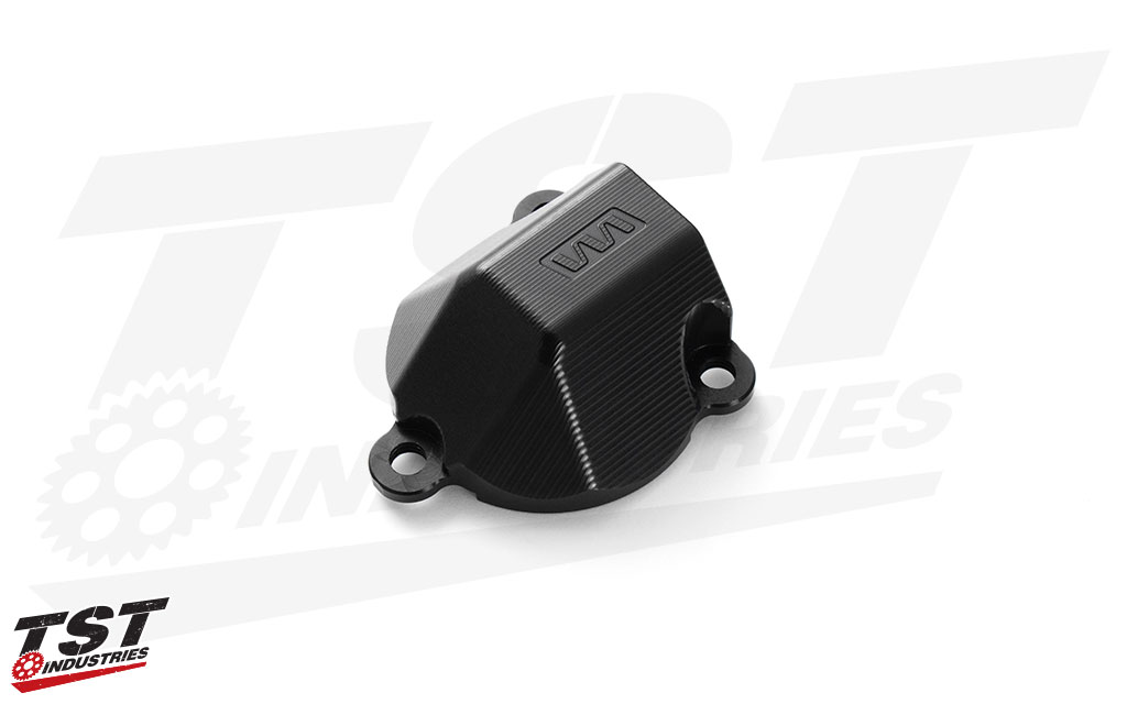 Womet-Tech aluminum water pump protector for 2020+ BMW S1000RR.