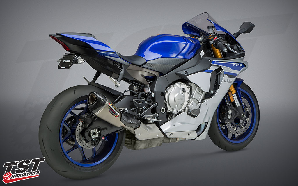Improve the performance, sound, and appearance of your Yamaha YZF-R1.