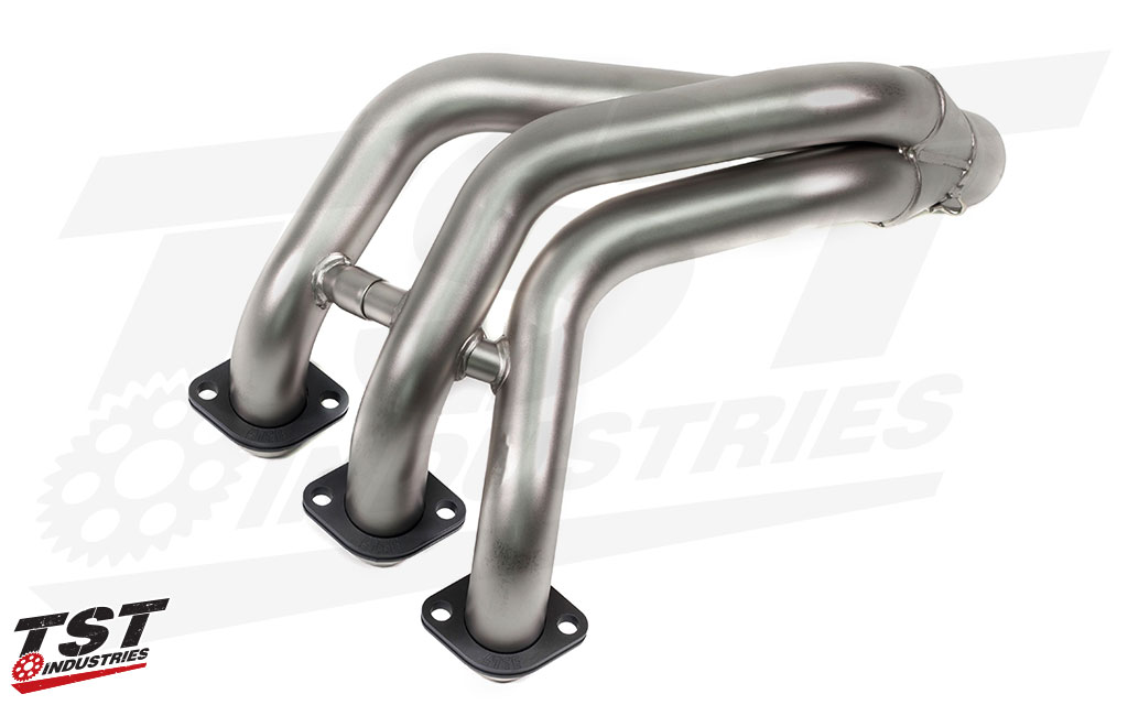 The color break-in process makes these headers a unique and eye catching part of the Yamaha FZ-09 / MT-09.