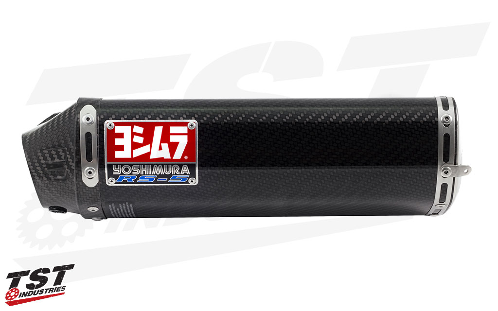 Yoshimura RS-5 with the Carbon Fiber canister.