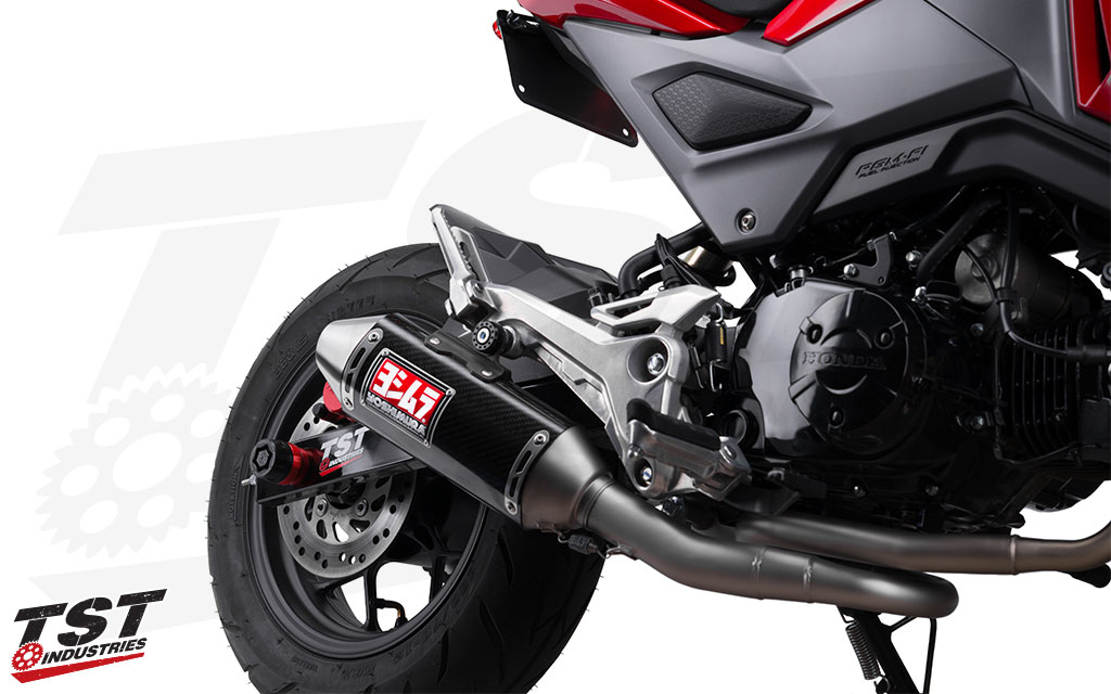 Ditch the heavy exhaust for a light weight system that provides improved looks, sound, and performance.