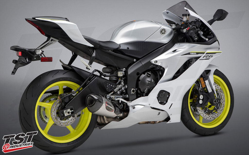 Unleash your R6 with the Yoshimura ALPHA-T.