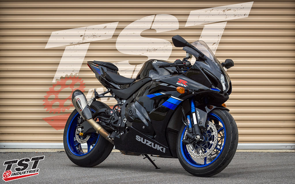 yoshimura street alpha t suzuki gsx r1000 2017. Black Bedroom Furniture Sets. Home Design Ideas