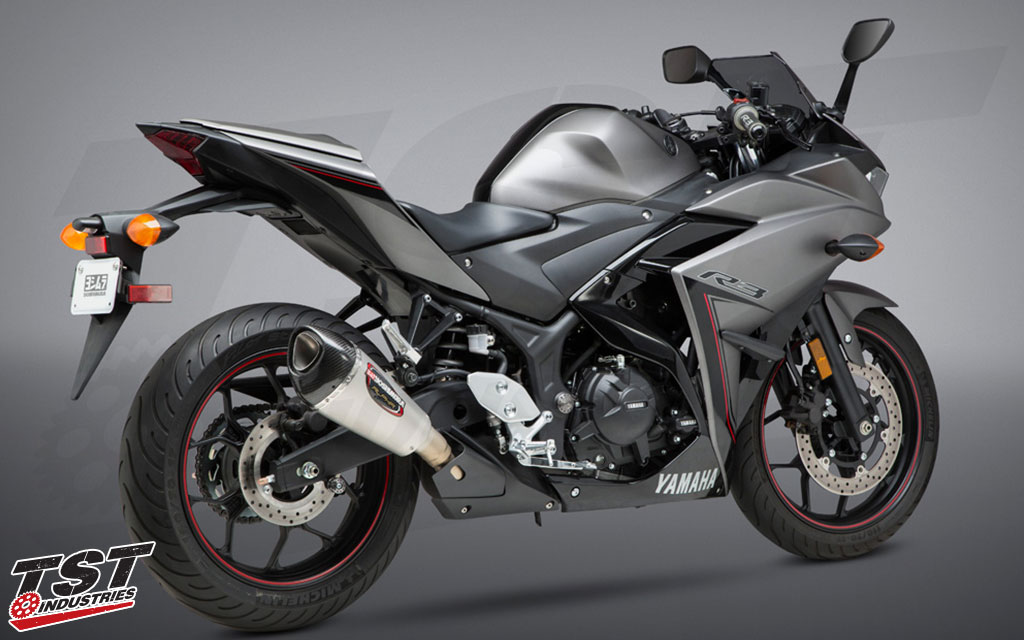 Unleash your R3 with the Yoshimura ALPHA-T.