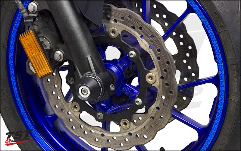 Womet-Tech crash protection provides vital protection the fork bottoms of your Yamaha.