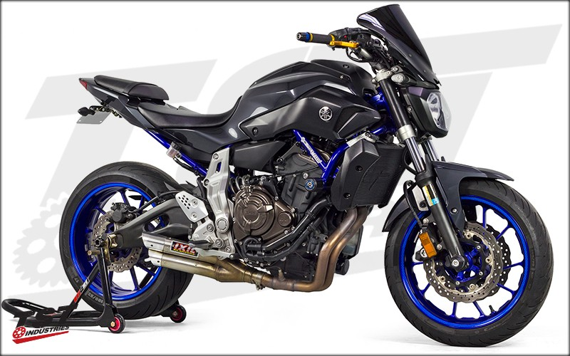 Yamaha FZ-07 / MT-07 / XSR700 Crash Protection by Womet-Tech