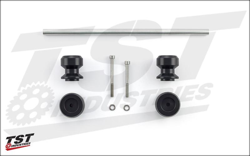 Womet-Tech Rear Axle Sliders System.