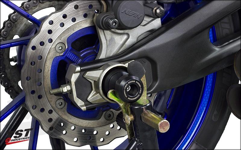 TST Rear Axle Crash Protector