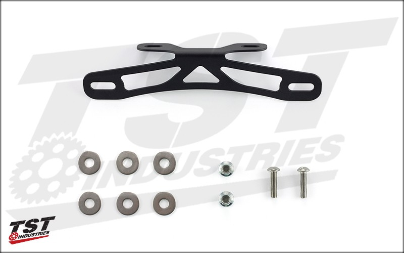 What's Included in the TST Industries Fixed High Fender Eliminator Kit for the 2014-2016 Yamaha FZ-09 / MT-09.