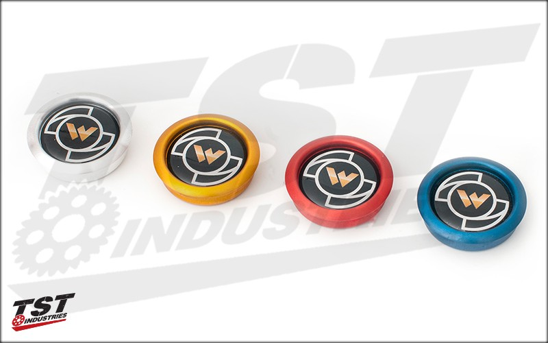 Use the Buy Together option and customize your anodized slider caps.