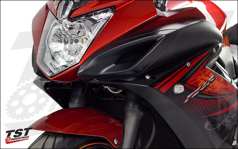 TST LED Front Flushmount Turn Signals for Yamaha