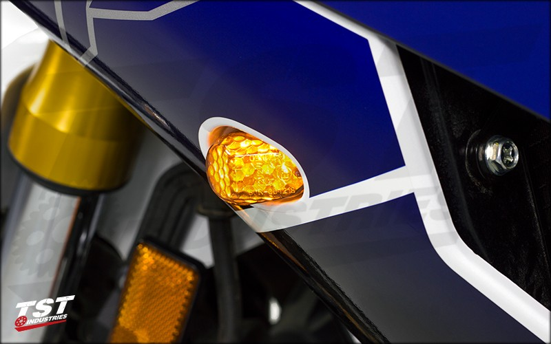 LED Front Flushmount Signals.