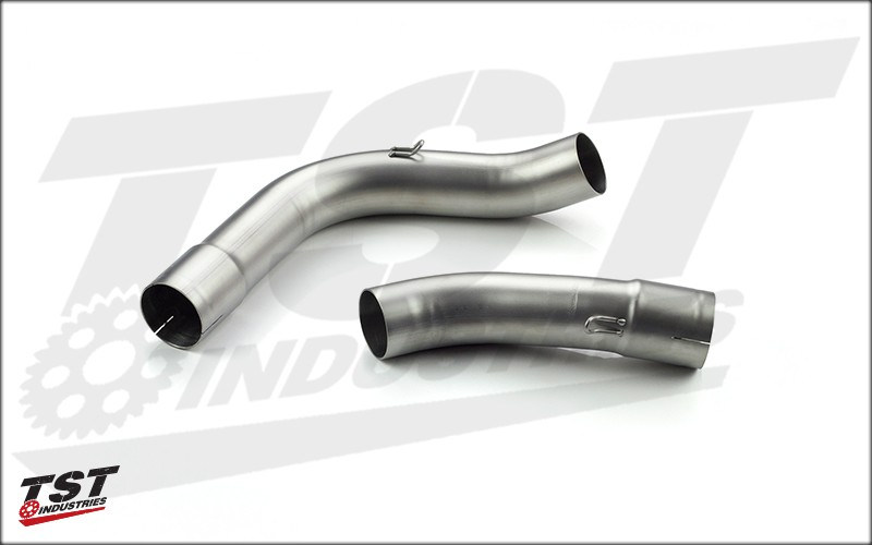 Toce pipes for the Yamaha YZF-R1.