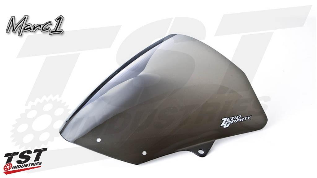 Zero Gravity Marc 1 Windscreen for Kawasaki ZX10R 2008-2012 / ZX6R 2009-2018 (light smoke)