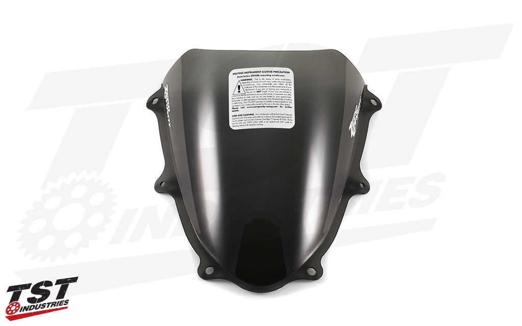 Upgrade your GSX-R1000 with the an improved windscreen.