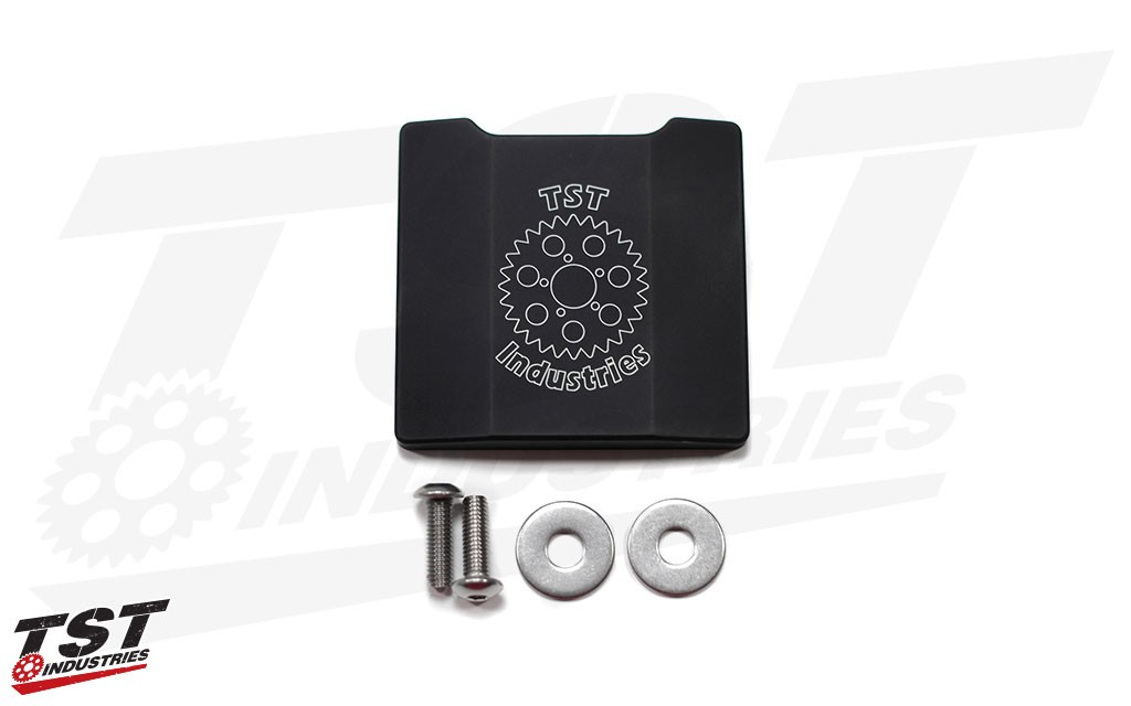 What's included in the TST Undertail Closeout for Kawasaki ZX6R 2009-2017 & ZX10R 2008-2010.